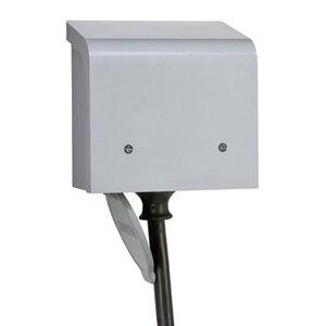Reliance Controls PBN50 Power Inlet, 50A, 120/240V, NEMA CS36-75 Inlet Receptacle