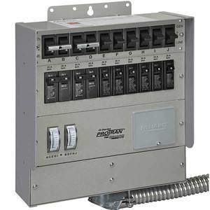 Reliance Controls Q310C 30 Amp 10-Circuit Heavy Duty Transfer Switch