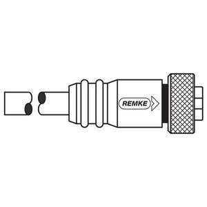 Remke Industries 104A0200AP RMK 104A0200AP PVC MINI-LINK TM