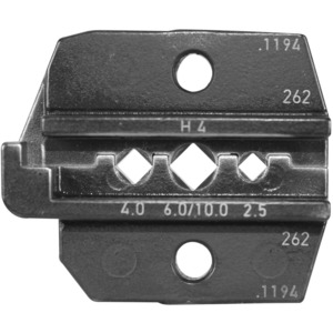 Rennsteig Tools R624-1194-3-0 Crimp Die Set for Amphenol H4 Solar Contacts