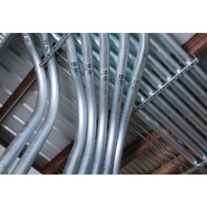 "Republic Conduit 1265 EMT Conduit, 3/4"", Hot-Galvanized Steel, 10'"