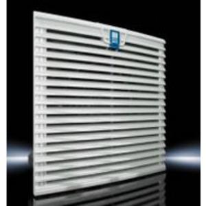 Rittal 3244110 Fan/Filter Unit, 115V, 50/60 Hz, Size: 292mm x 292mm