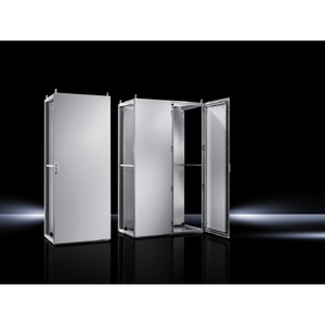 Rittal 8885500 Enclosure, Floor Mounted, 1800mm H x 800mm W x 500mm D, Single Door