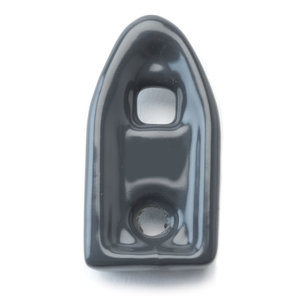 "Robroy CLB-M75 Clamp Back Spacer, Size: 3/4"", Steel/PVC Coated"