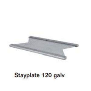 Roxtec ASP0001200018 Stayplate, 120 mm, Galvanized Steel