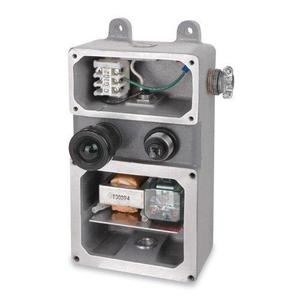 Russellstoll GSUL2SS Safe Ground Indicator with Indicator Lights, 120V, UL/CSA
