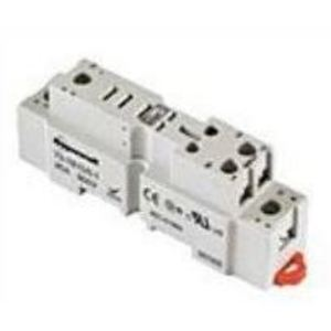 SE Relays 70-781D5-1A Mounting Socket, 5 Blade, Screw Terminals, DIN Rail Mount