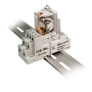 SE Relays 70-784D14-1 Mounting Socket, 14 Blade, Screw Terminals, DIN Rail Mount