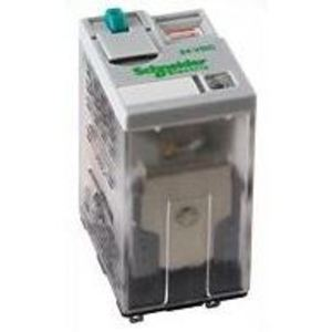 SE Relays 782XBXM4L-24D Relay, Ice Cube, 8 Blade, 15A, 300VAC, 24VDC Coil, 2PDT