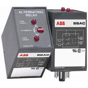 SSAC ARP43S Alternating Relay, DPDT, 120V AC