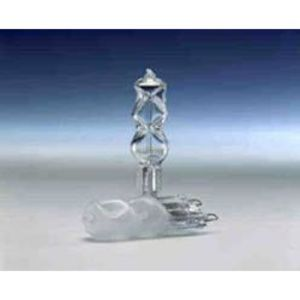 SYLVANIA 40T4G9/CL/BL-120V Halogen Capsule Lamp, T4, 40W, 120V