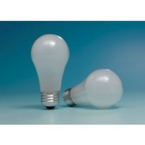 SYLVANIA 43AHALMSSSW2-120V Halogen Bulb, A19, 43W, 120V, Super Soft White
