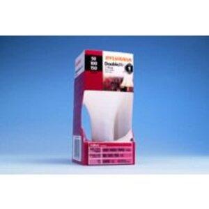 SYLVANIA 50/150A21/DLSW/RP-120V Incandescent Bulb, 3-Way, A21, 50/100/150W, 120V, Soft White