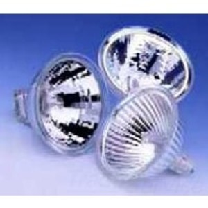SYLVANIA 50MR16/FL35/C(EXN)-12V Halogen Lamp, MR16, 50W, 12V, FL35