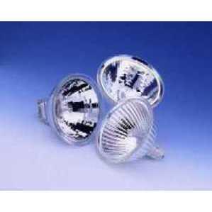 SYLVANIA 50MR16/SP10/C(EXT)-12V Halogen Lamp, MR16, 50W, 12V, SP10