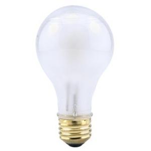SYLVANIA 53A/HAL/SSW/4-120V Halogen Bulb, A19, 53W, 120V, Super Soft White