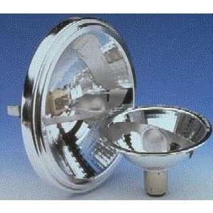 SYLVANIA 75AR111/SP6-12V Halogen Lamp, AR111, 75W, 12V, SP6