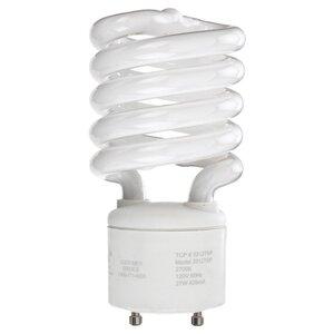 SYLVANIA CF13EL/GU24/827/BL Compact Fluorescent Lamp, Mini-Twister, 13W, 2700K
