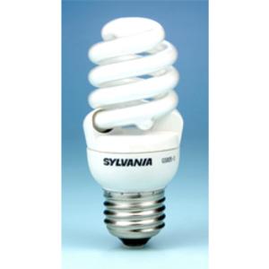 SYLVANIA CF13EL/MICRO/827/RP2 Compact Fluorescent Lamp, Mini-Twister, 13W, 2700K