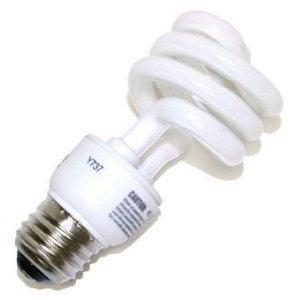 SYLVANIA CF13EL/SUPER/827/RP Compact Fluorescent Lamp, Twister, 13W, 2700K