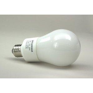 SYLVANIA CF14EL/A19/830 Compact Fluorescent Lamp, A19, 14W, 3000K