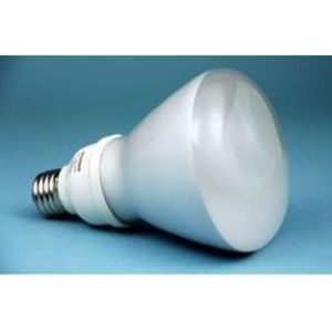 SYLVANIA CF15EL/BR30/DIM/827/BL Compact Fluorescent Lamp, Dimmable, BR30, 15W, 2700K