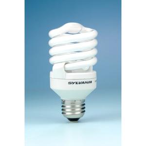 SYLVANIA CF20EL/MICRO/827/15000HR-RP2 Compact Fluorescent Lamp, Mini-Twister, 20W, 2700K
