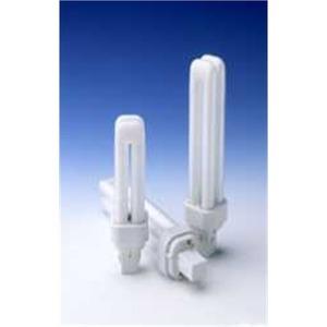 SYLVANIA CF26DD/E/830/ECO Compact Fluorescent Lamp, 4-Pin, Dulux D, 26W, 3000K