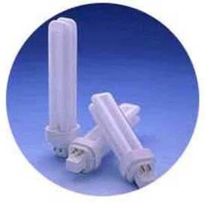 SYLVANIA CF26DD/E/841/ECO Compact Fluorescent Lamp, 4-Pin, Dulux D, 26W, 4100K