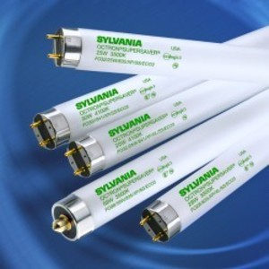"""SYLVANIA FO28/835/XP/SS/ECO3 Fluorescent Lamp, Extended Performance, T8, 48"""", 28W, 3500K"""