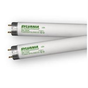 "SYLVANIA FO28/835/XP/SS/ECO3/SL Fluorescent Lamp, Safeline Coated, T8, 48"", 28W, 3500K"