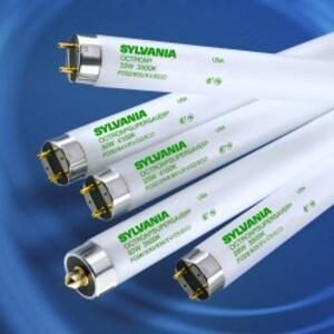 "SYLVANIA FO32/850/XV/ECO Fluorescent Lamp, Extended Value, Ecologic, T8, 48"", 32W, 5000K"