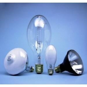 SYLVANIA H33GL-400/DX Mercury Vapor Lamp, ED37, 400W, Coated