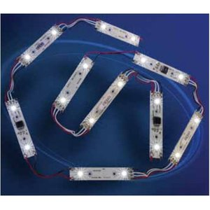 SYLVANIA HF2CHAIN/36/W4-865/HE High Brightness LED Module, 12ft, 6500K, 18 Modules