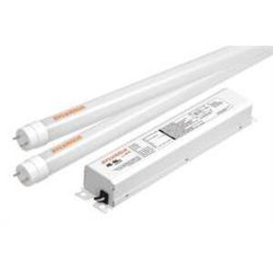 """SYLVANIA LED19T8L48/F/1X3HE/835/UNV Retrofit Kit, LED, T8, High Efficiency, 48"""", 58W, 120-277V, 3500K"""