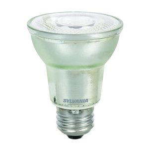SYLVANIA LED7PAR20DIM840FL4022YGL3WRP LED Lamp, 7W, PAR20, 120V, FL40