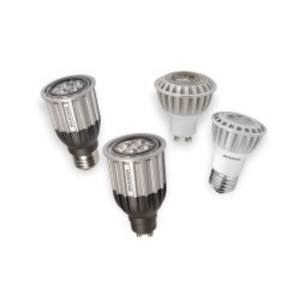 SYLVANIA LED8PAR16DIM830FL35 LED Lamp, Dimmable, PAR16, 8W, 120V, FL35