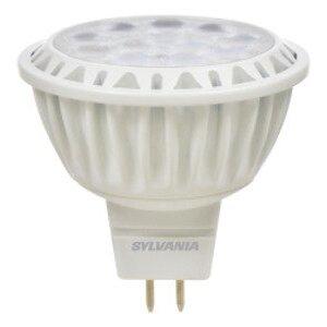 SYLVANIA LED9MR16/DIM/830/NFL25 LED Lamp, MR16, 9W, 12V, 3000K, 700 Lumen