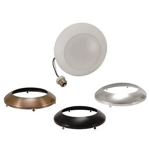 SYLVANIA LEDLD900930FL120 LED LightDisk, Recessed/Surface Mount Downlight Kit, 900 Lumens, 3000K, 120V
