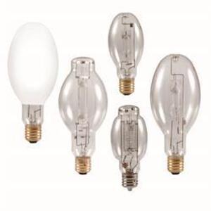 SYLVANIA M175/PS/U/ED28 Metal Halide Lamp, Pulse Start, ED28, 175W, Clear