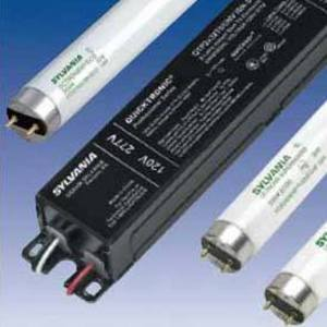 SYLVANIA QHE-2X32T8/UNV-ISL-SC-B Electronic Ballast, Fluorescent, T8, 2-Lamp, 32W, 120-277V