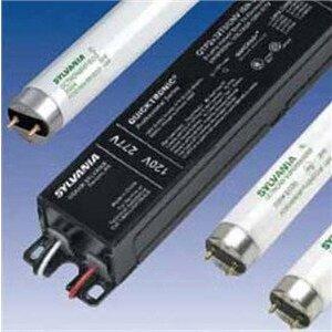 SYLVANIA QHE-2X32T8/UNV-ISN-SC Electronic Ballast, Fluorescent, T8, 2-Lamp, 32W, 120-277V