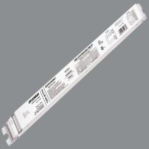 SYLVANIA QHE-2X54T5HO/UNV-PSN-HT Electronic Ballast, Fluorescent, High Output, 2-Lamp, 54W, 120-277V