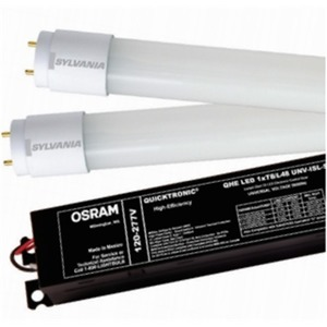 SYLVANIA QHE-2XLEDT8/UNV-ISN-SC 2-Lamp LED T8 Electronic Control, 120-277V, Normal Power