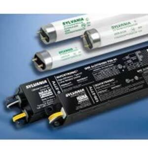 SYLVANIA QHE-4X32T8/UNV-ISN-SC-B Electronic Ballast, Fluorescent, T8, 4-Lamp, 32W, 120-277V