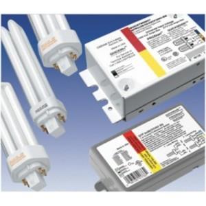 SYLVANIA QTP-1/2X13CF/UNV-DM Electronic Ballast, Compact Fluorescent, 2-Lamp, 13W, 120-277V
