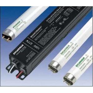 SYLVANIA QTP-4X32T8/UNV-ISL-SC Electronic Ballast, Fluorescent, T8, 4-Lamp, 32W, 120-277V
