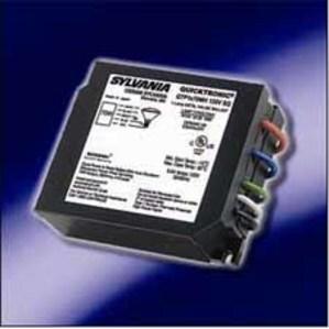SYLVANIA QTP1X70MH-UNV-SQ-F Electronic F-Can Ballast, Metal Halide, 70W, 120-277V