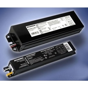 SYLVANIA QTP2X40T12/UNV-RS-SC Electronic Ballast, Fluorescent, T12, 2-Lamp, 120-277V