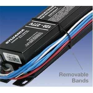 SYLVANIA QTP4X32T8/UNV-ISN-SC-B Electronic Ballast, Fluorescent, T8, 4-Lamp, 32W, 120-277V